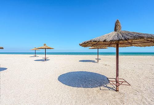 Пляж. Пляжный отель «Tropicanka»